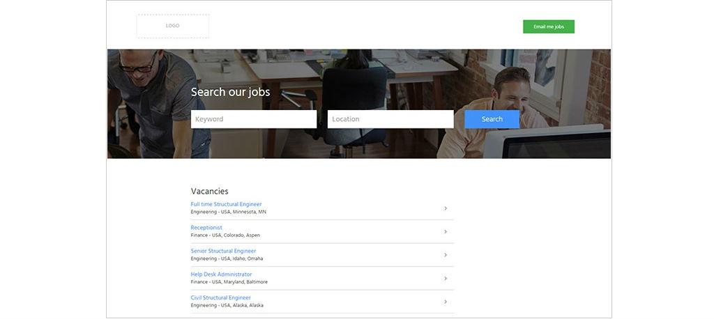 Career site template   CareerSiteCloud